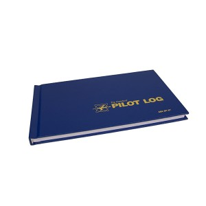 Flight Log Book Blue 600