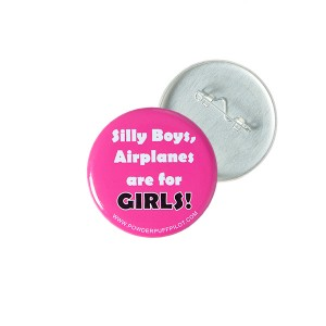 Airplanes are for girls Pin 600